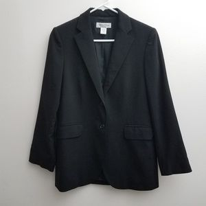 Brooks Brothers Blazer 4 Jacket Black Two Buttons